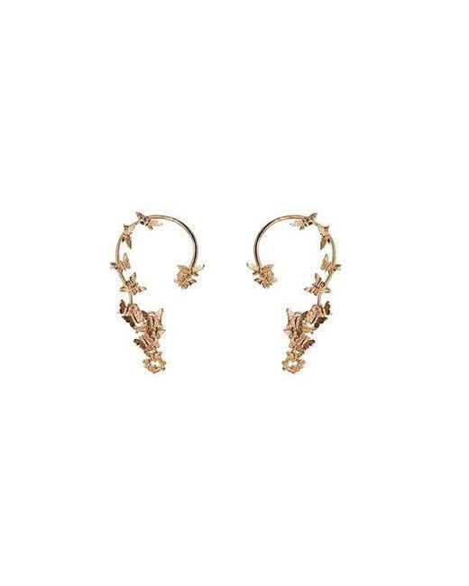 Bernard Delettrez | Metallic Butterflies Gold Ear Cuffs | Lyst