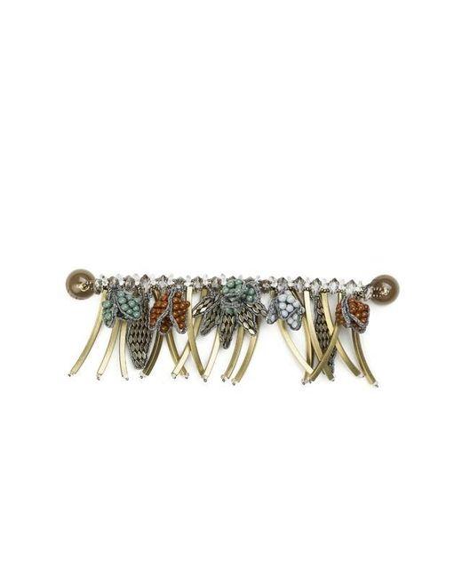 Tataborello | Green Tasseled Bracelet 11 | Lyst
