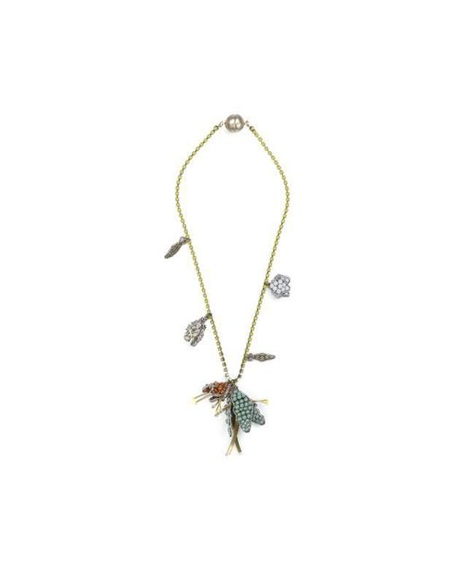 Tataborello | Blue Summer Place Beaded Floral Pendant Necklace 23 | Lyst