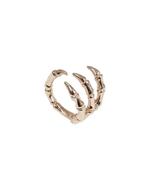 Bernard Delettrez | Metallic Bird Claw Bronze Ring | Lyst