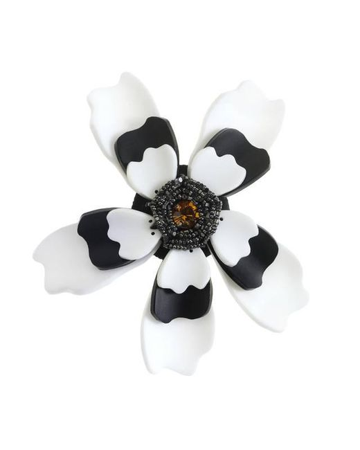 Forest Of Chintz | White Temple Of Flora Brooch | Lyst