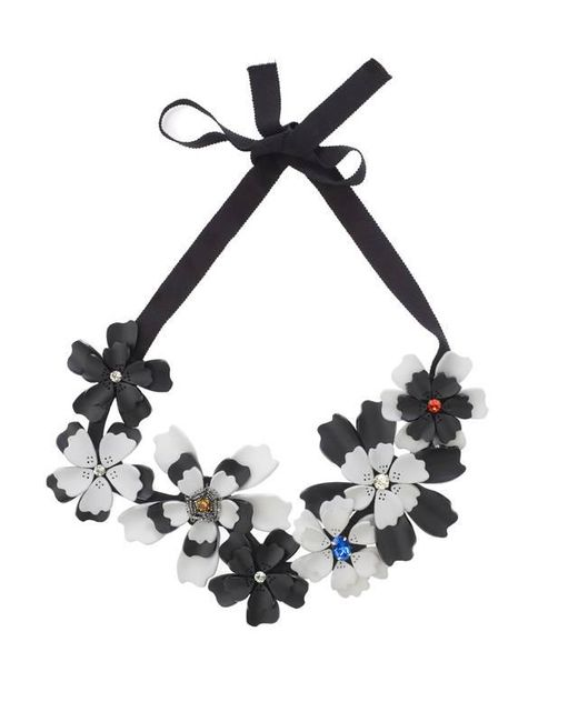 Forest Of Chintz | Black Night Shade Necklace | Lyst