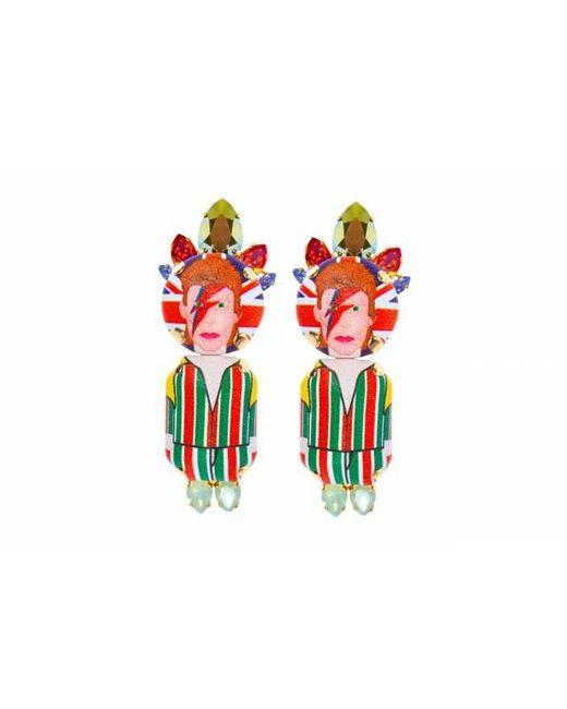 Bijoux De Famille   Red Bowie Shoe Clips   Lyst