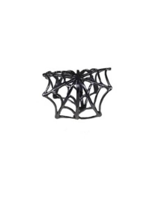 Bernard Delettrez | Black Bronze Web Ring | Lyst