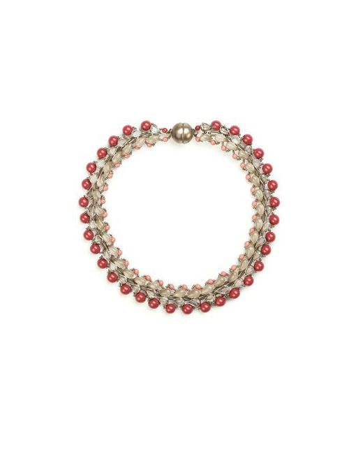 Tataborello | Red Summer Place Choker Necklace 01 | Lyst