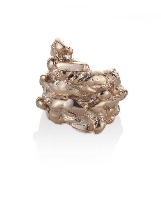 Noritamy | Pink Fogo Rose Gold Ring | Lyst