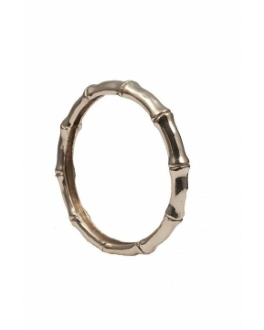 Bernard Delettrez | Metallic Bronze Bamboo Bangle | Lyst