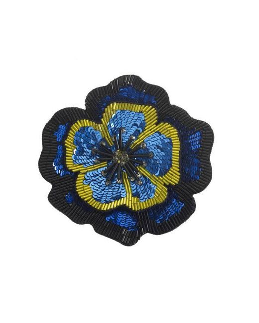 Forest Of Chintz | Blue Full Bloom Brooch | Lyst