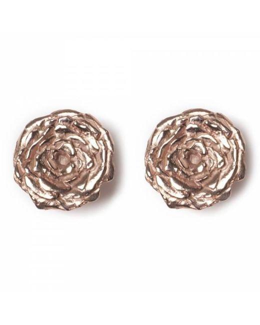 Leivan Kash - Multicolor Rose Stud Earrings - Lyst