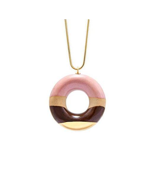 Tadam! Design - Pink Vanilla Doughnut With Wild Strawberry Coffee And Gold Glaze - Lyst