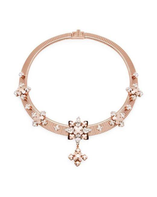 Ellen Conde - Pink Greta Rose Gold Necklace - Lyst