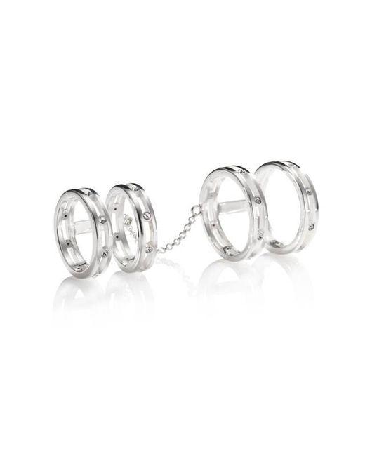 Yael Salomon | Metallic Stelle 10 Silver Ring | Lyst