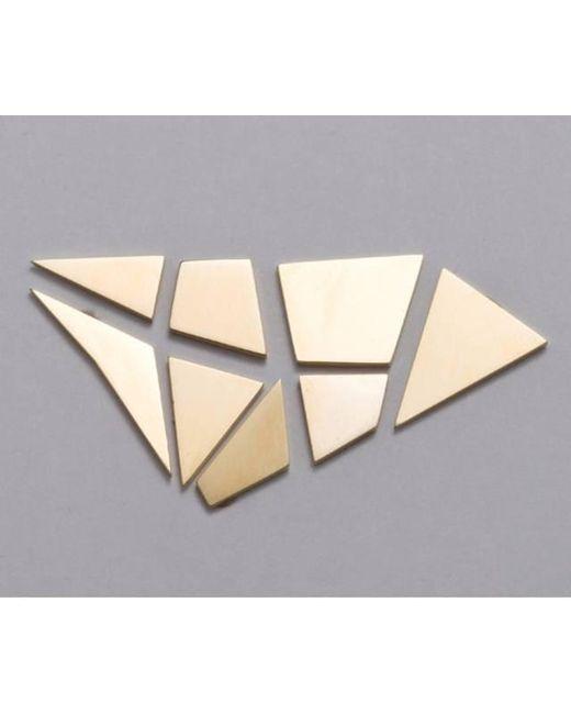 Liza Belachew | Metallic Share The Art 18k Gold Earrings Set | Lyst