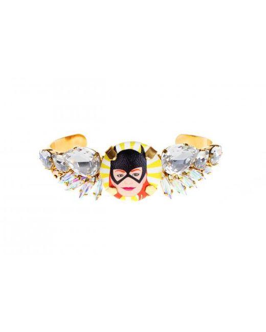 """Bijoux De Famille   Multicolor """"batgirl"""" Small Wings Bracelet Choker   Lyst"""