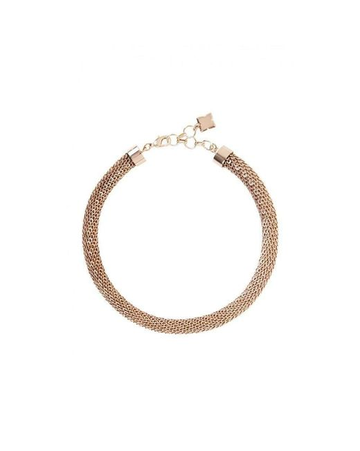 BCBGMAXAZRIA - Metallic Bcbg Maxazria Rose Gold Looped Chain Necklace - Lyst