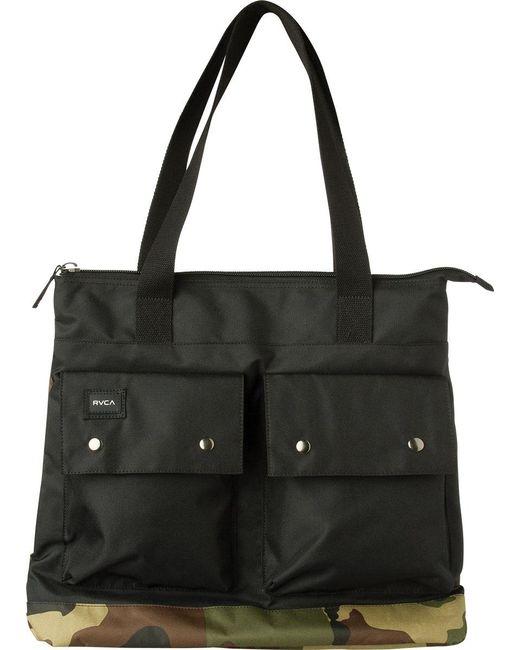 RVCA | Black Veteran Tote Bag | Lyst