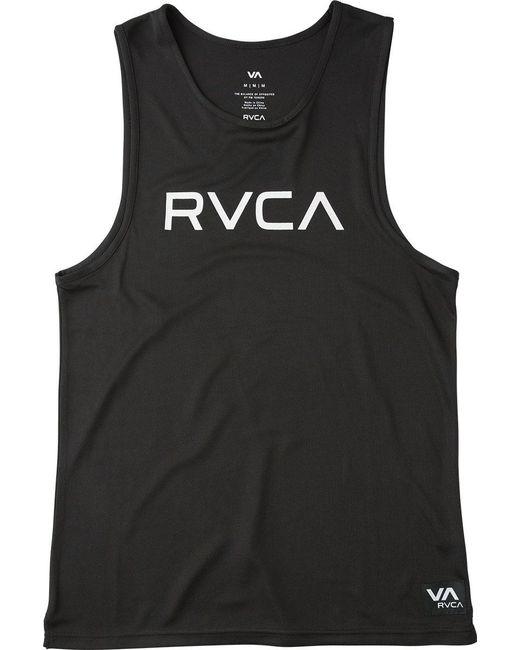 RVCA | Black Big Tank Top for Men | Lyst
