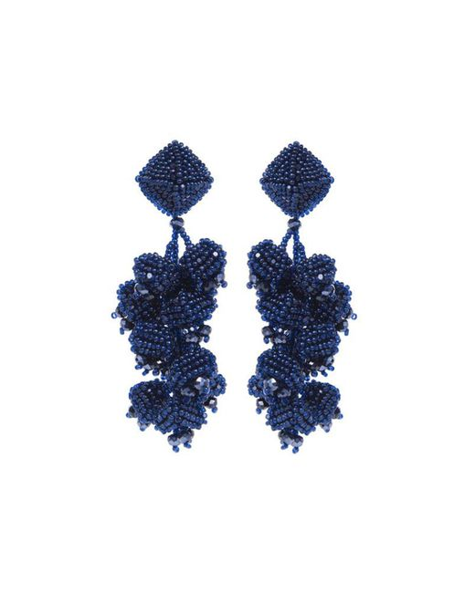 Sachin & Babi - Blue Grapes Earrings - Navy - Lyst