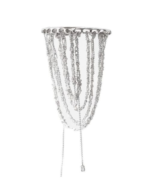 Arielle De Pinto | Metallic Prestige Cuff In Silver | Lyst