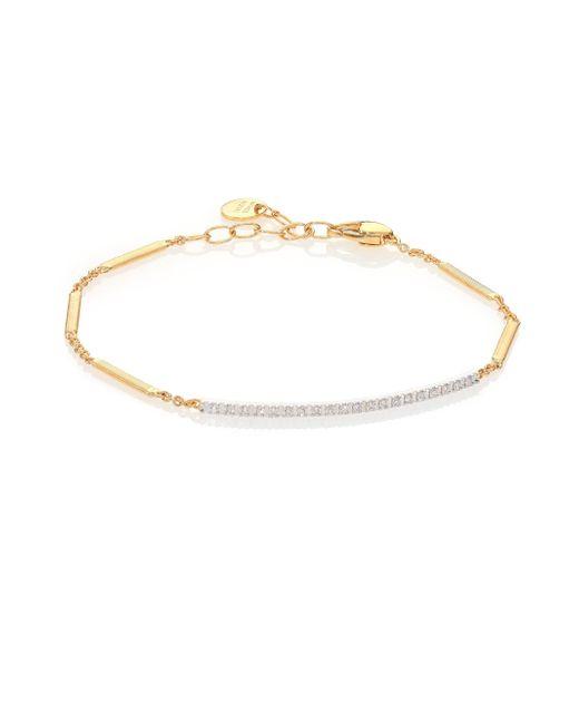 Marco Bicego - Metallic Goa Diamond, 18k Yellow Gold & 18k White Gold Bracelet - Lyst