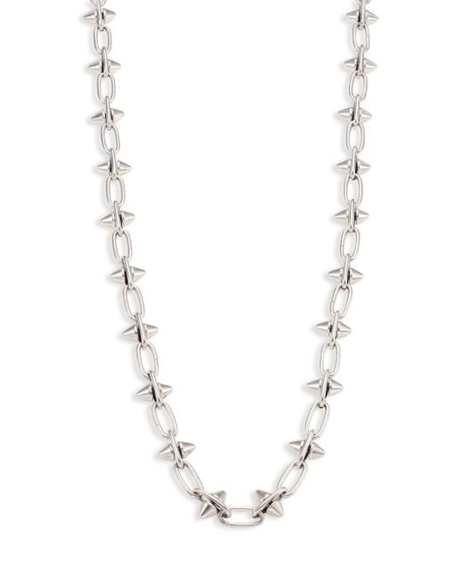 Nest | Metallic Spiked Link Necklace | Lyst
