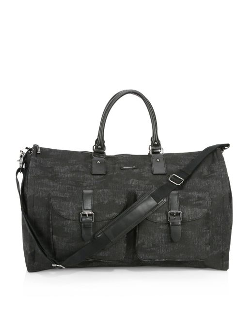 Hook + Albert | Black Waxed Canvas Weekender Bag for Men | Lyst