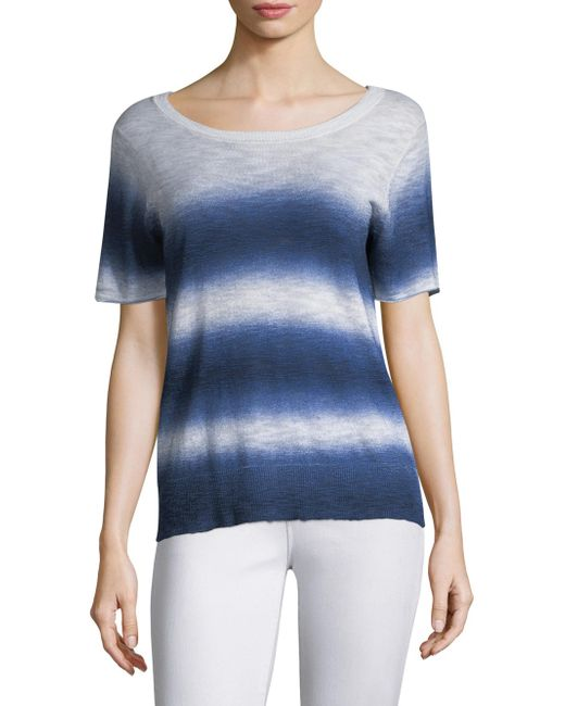 Feel The Piece - Blue Macy Ombre T-shirt - Lyst