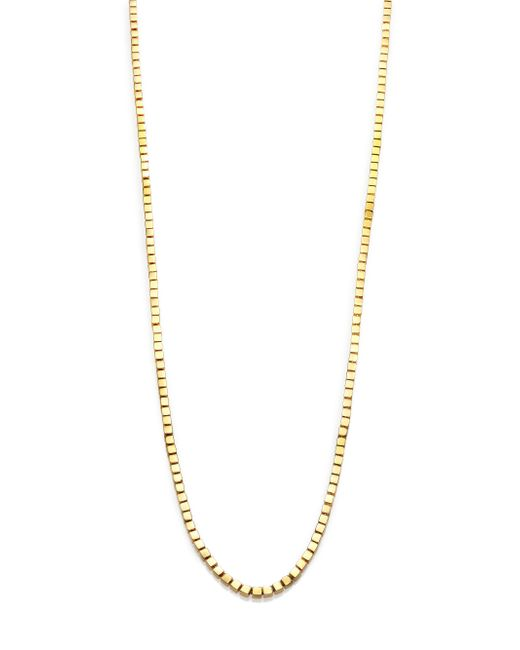 Eddie Borgo | Metallic Mini Double-sided Cube Necklace | Lyst