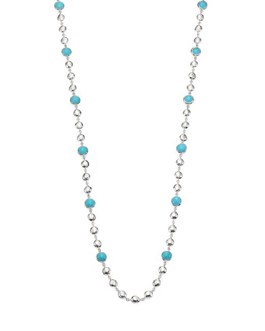 Ippolita | Metallic Rock Candy Turquoise & Sterling Silver Long Beaded Necklace | Lyst