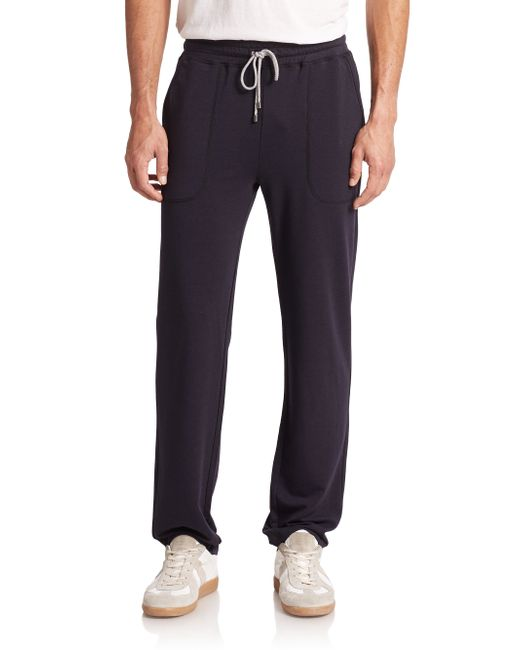Saks Fifth Avenue | Black Jersey Sweatpants for Men | Lyst