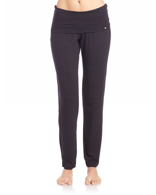 Hanro | Black Yoga Lounge Pants | Lyst