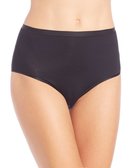 Hanro | Black Soft Touch Full Brief | Lyst