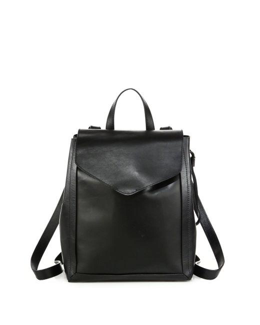 Loeffler Randall | Black Mini Leather Backpack | Lyst