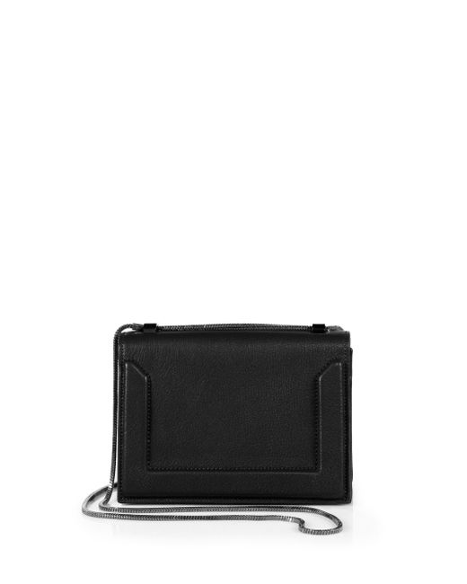 3.1 Phillip Lim | Black Soleil Mini Leather Chain Crossbody Bag | Lyst