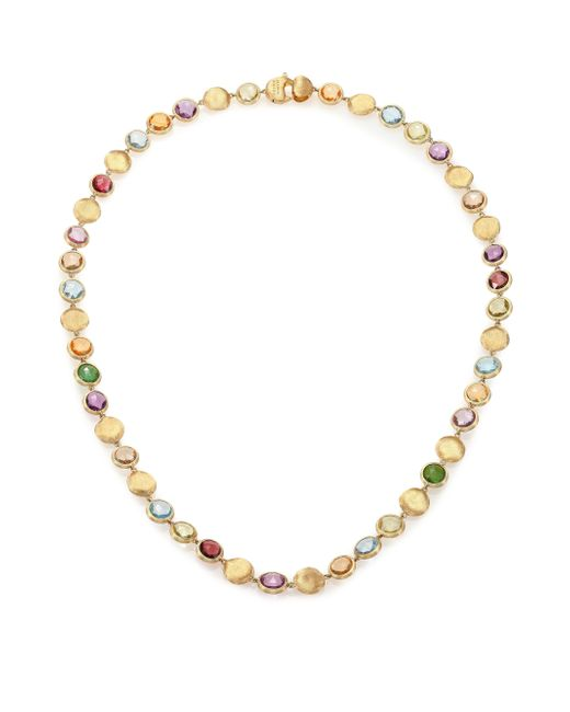 Marco Bicego | Multicolor Jaipur Semi-precious Multi-stone & 18k Yellow Gold Strand Necklace | Lyst