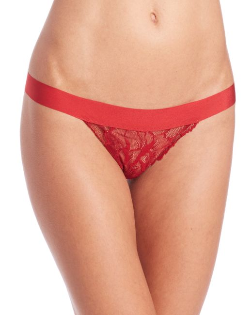 Commando | Red Double Take G-string | Lyst