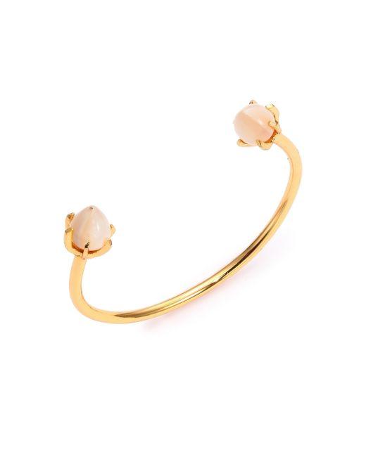 Lizzie Fortunato | Metallic Eclipse Mother-of-pearl Cuff Bracelet | Lyst