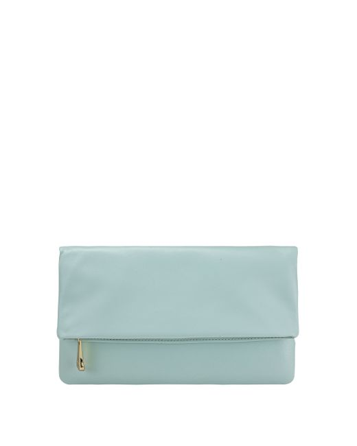 Gigi New York | Blue With Love From Kat Leather Fold-over Clutch | Lyst