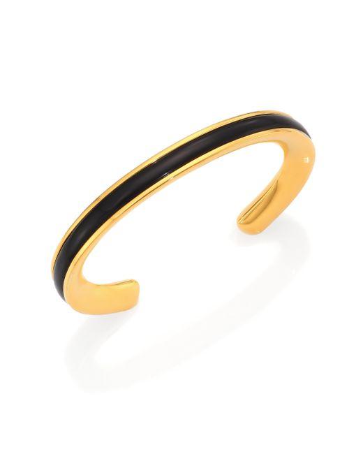 Maiyet | Metallic Signature Black Horn Skinny Cuff Bracelet | Lyst