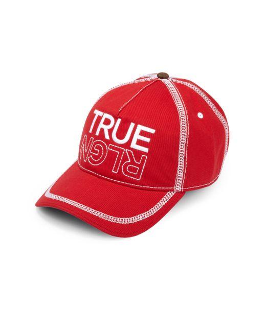 True Religion | Embroidered Logo Baseball Cap for Men | Lyst