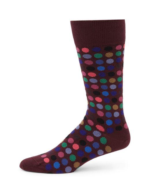 Paul Smith | Purple Multi Dot Socks for Men | Lyst