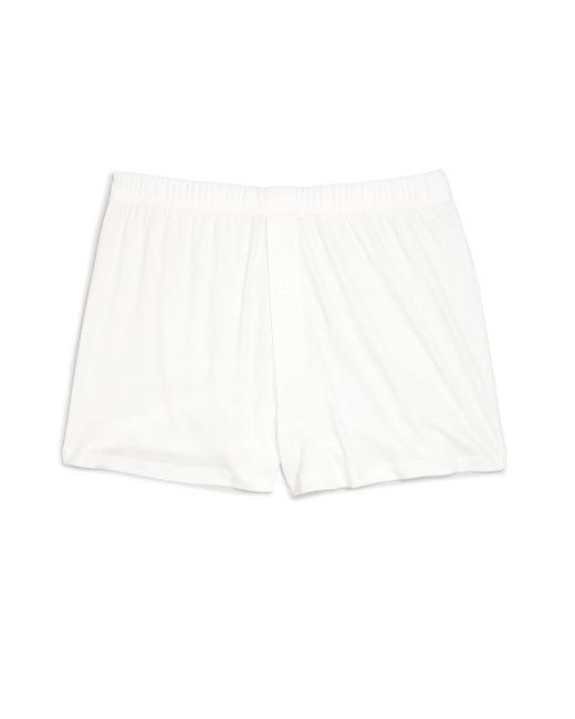 Hanro | White Sea Island Cotton Sea Island Cotton Boxers for Men | Lyst