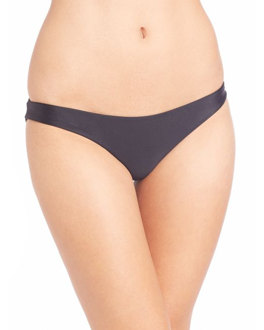 Mikoh Swimwear | Blue Zuma Scoop Bikini Bottom | Lyst