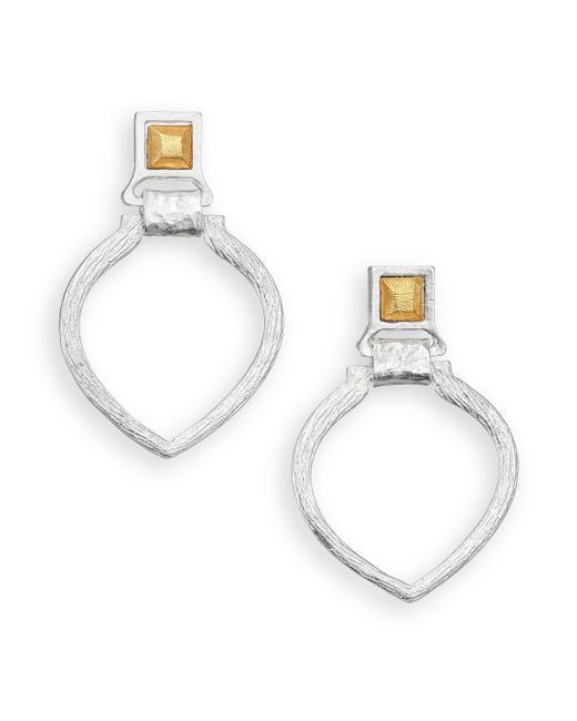 Stephanie Kantis | Metallic Tier Doorknocker Earrings | Lyst