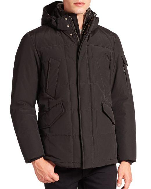 Woolrich | Black Blizzard Jacket for Men | Lyst
