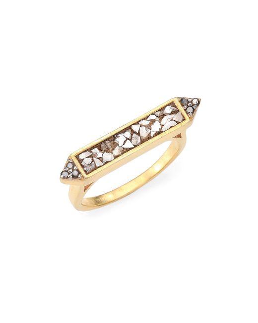 Shana Gulati | Metallic Charushila Diamond Ring | Lyst