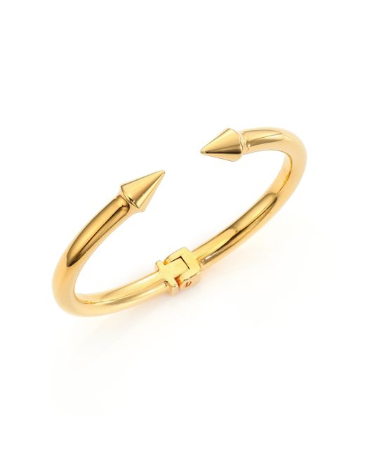 Vita Fede | Yellow Mini Titan Cuff Bracelet/goldtone | Lyst