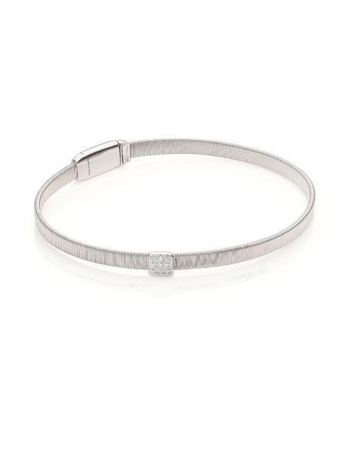 Marco Bicego | Metallic Masai Diamond & 18k White Gold Bracelet | Lyst