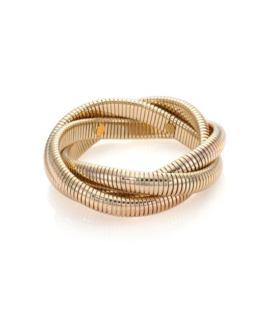 Kenneth Jay Lane | Metallic Small Snake Chain Bracelet/goldtone | Lyst