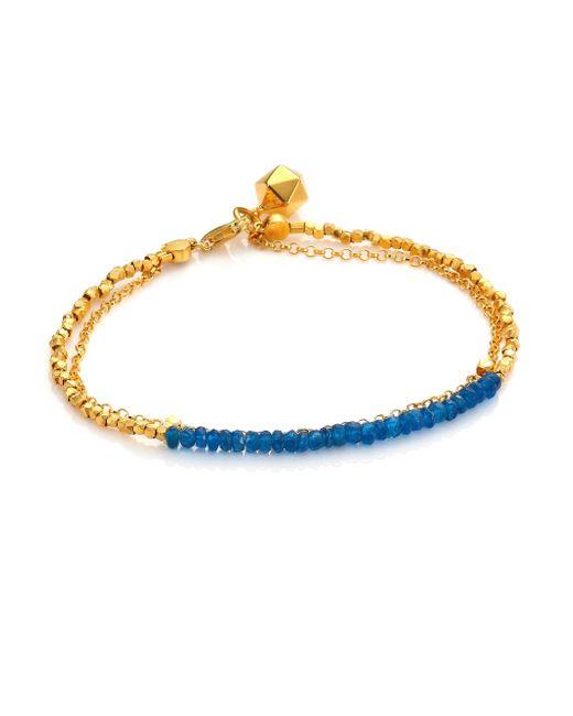 Astley Clarke | Metallic Biography Ocean Quartz Beaded Friendship Bracelet | Lyst